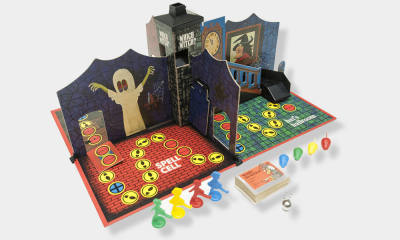 Bruce Markusen Lists His Top 6 Favorite Vintage Horror Board Games