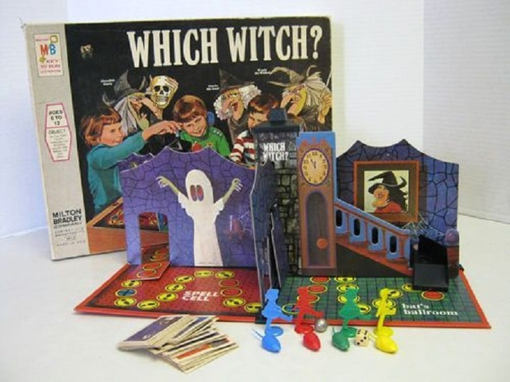 Which Witch 1970 Game