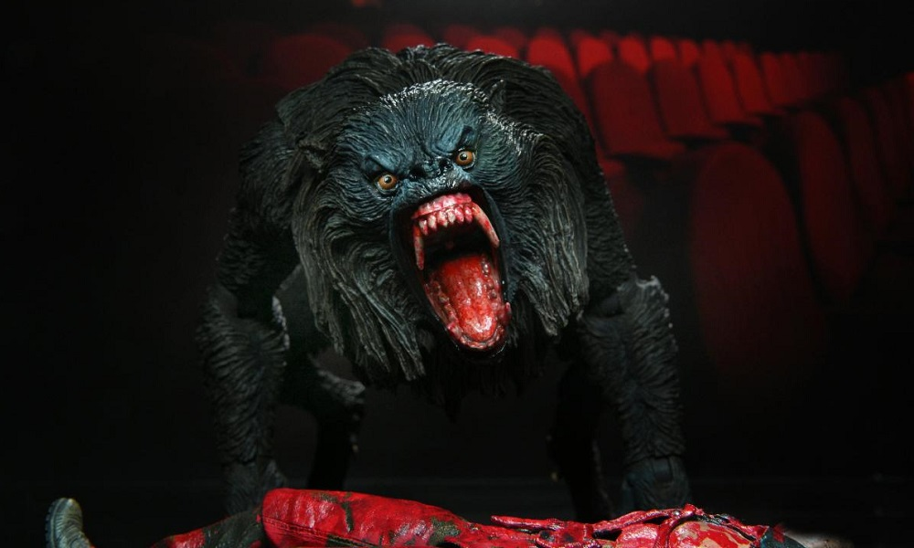 [Images] NECA's New 'An American Werewolf In London' 7″ Scale Hellhound Figure Attacks This Fall