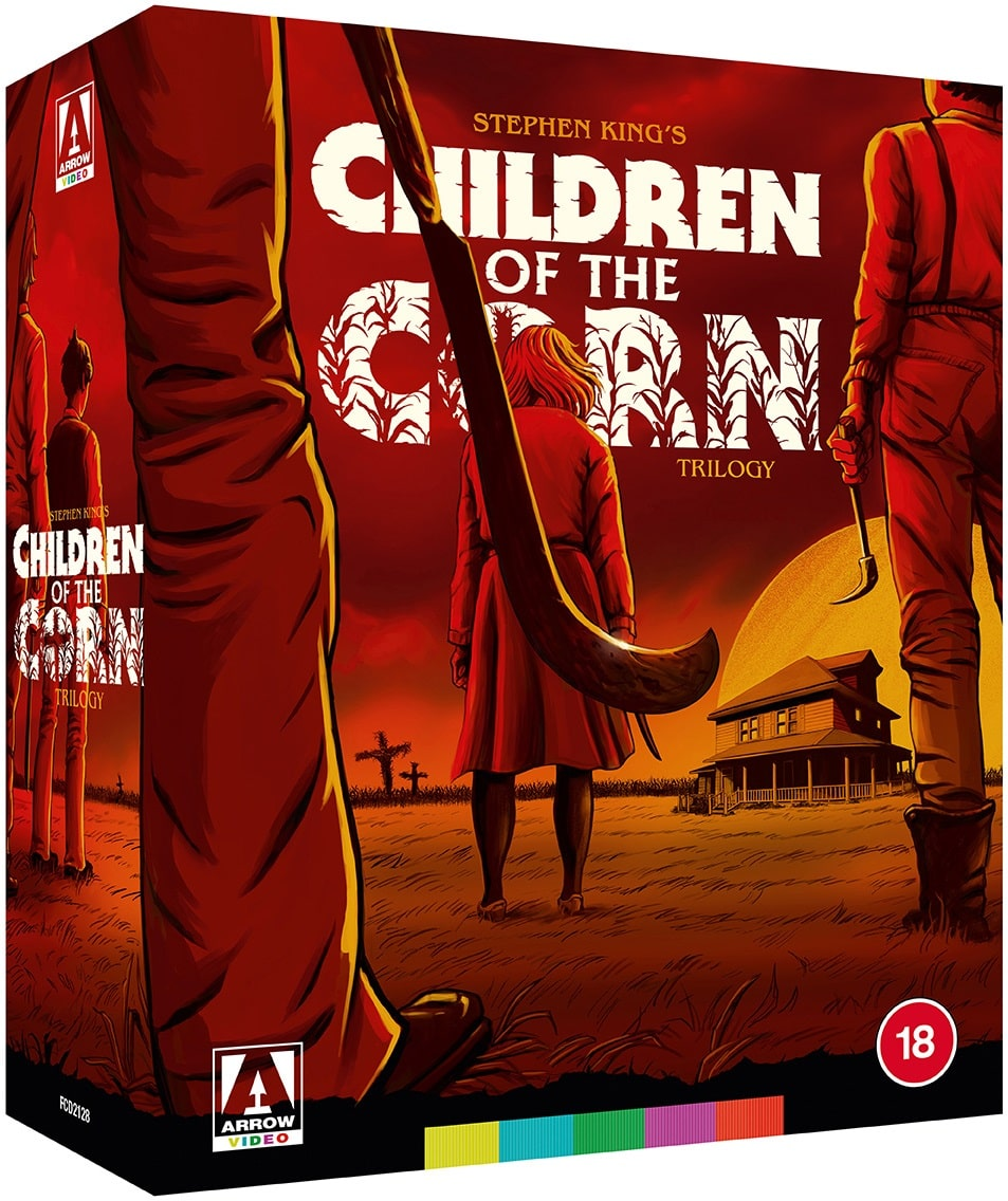 Children of the Corn Trilogy Limited Edition Box Set 4K Blu-Ray