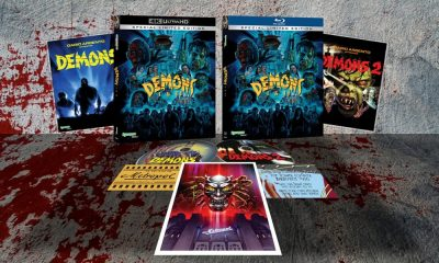 Synapse Films Unleashing 'Demons' and 'Demons 2' Limited Edition Set on 4K Ultra HD Blu-Ray in the US This October!