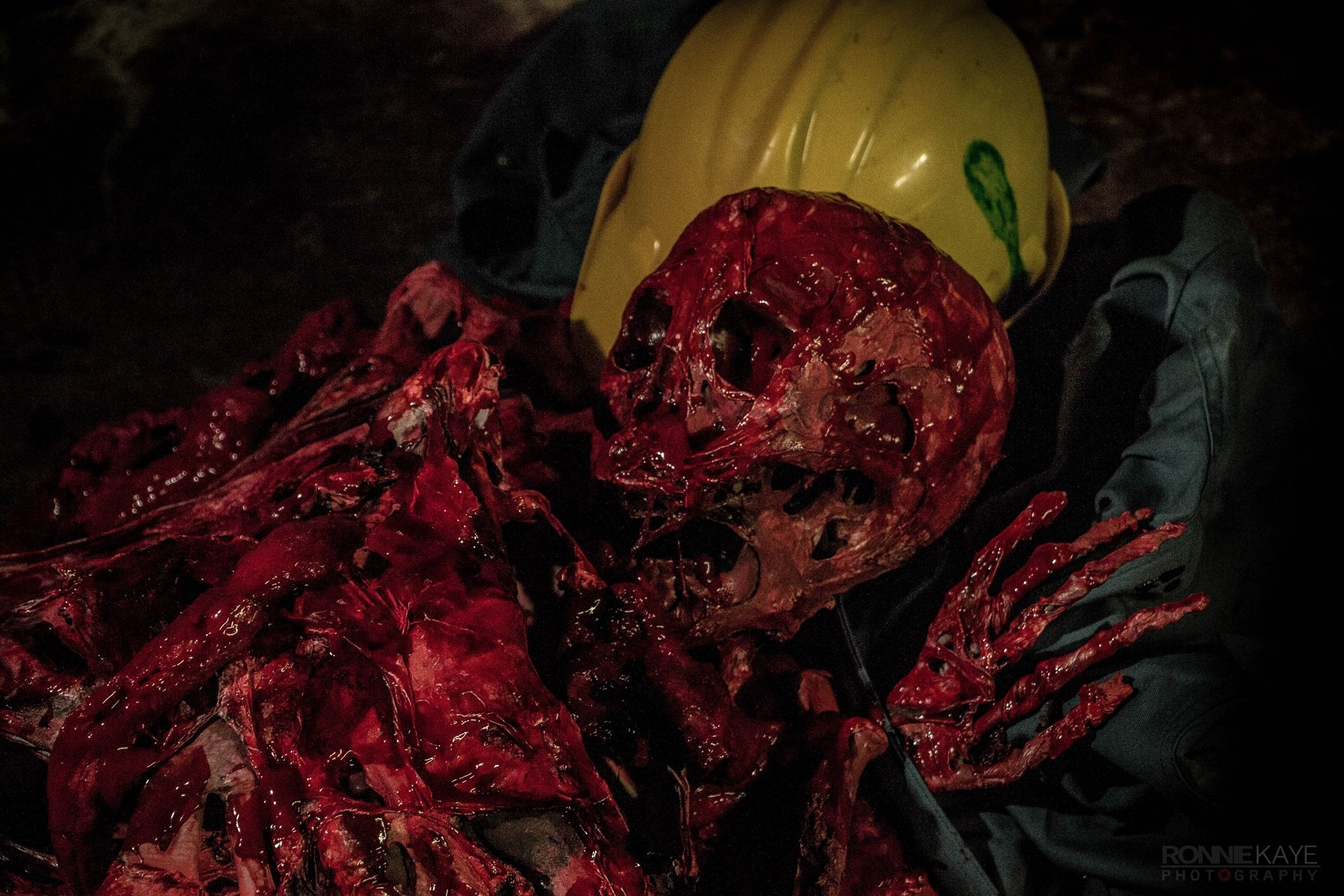 Zombies From Sector 9 Bloody Skeleton