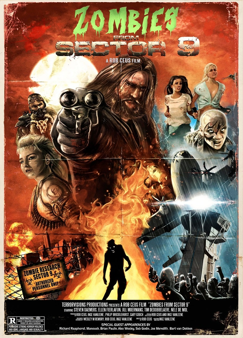 Zombies From Sector 9 Poster Artwork
