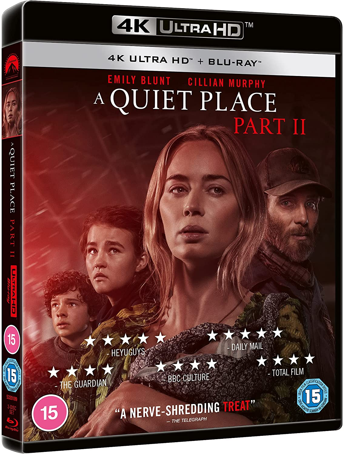 A Quiet Place Part II 4K UK Blu-Ray