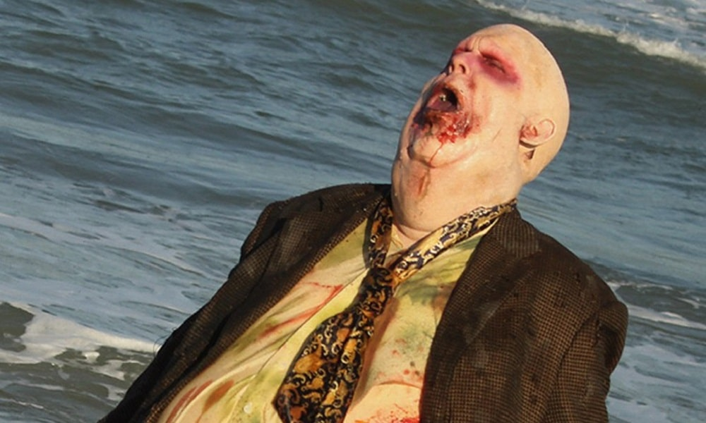 [Image] 'Night of the Living Dead 2': David Howard Thornton as a Zombie in Secretly Filmed Sequel