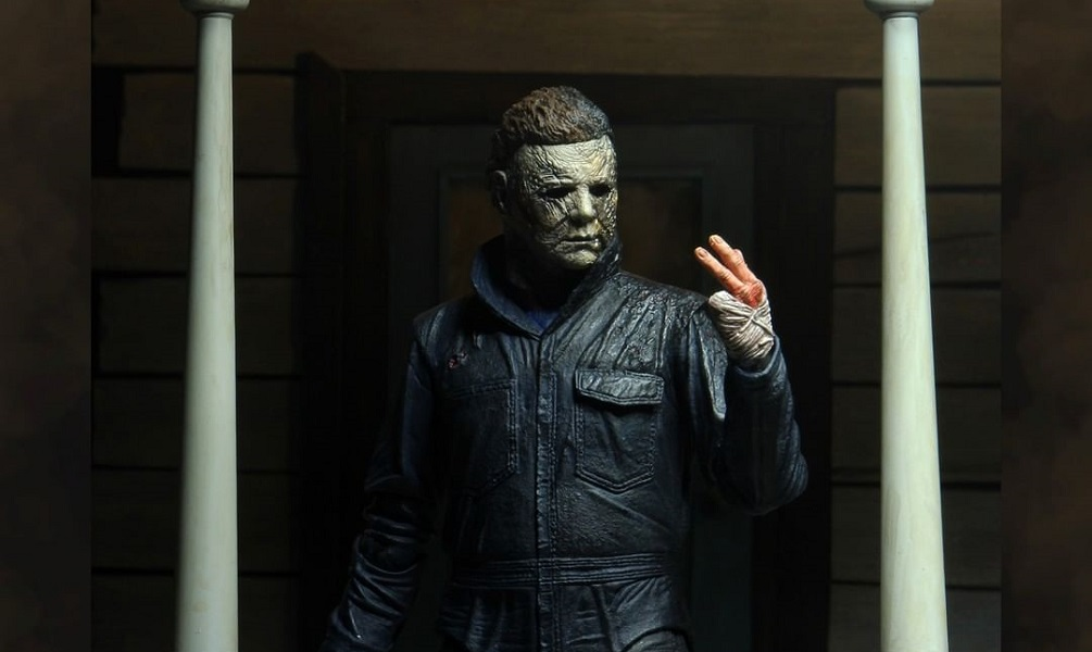 [Images] NECA Reveals 'Halloween Kills' Figure Based on Michael's Crispy Appearance in the Upcoming Sequel!