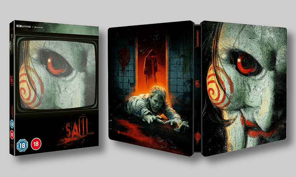 'Saw' Getting a Steelbook 4K Ultra HD Blu-Ray Release in the UK This September