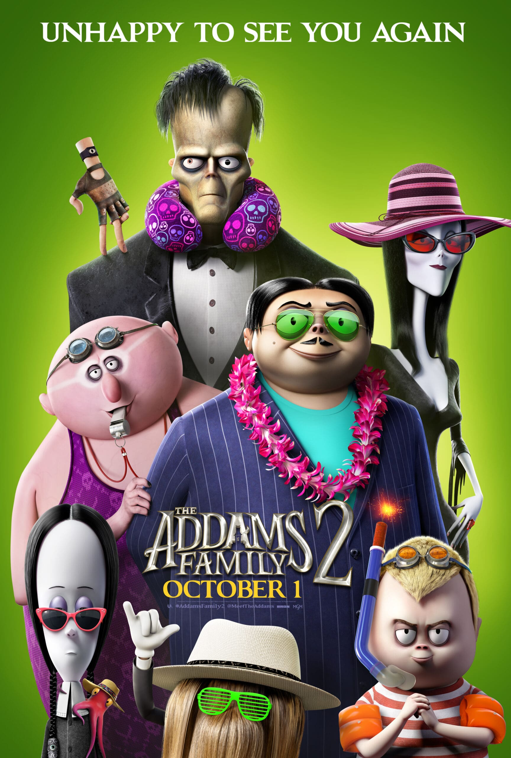 The Addams Family 2 Poster