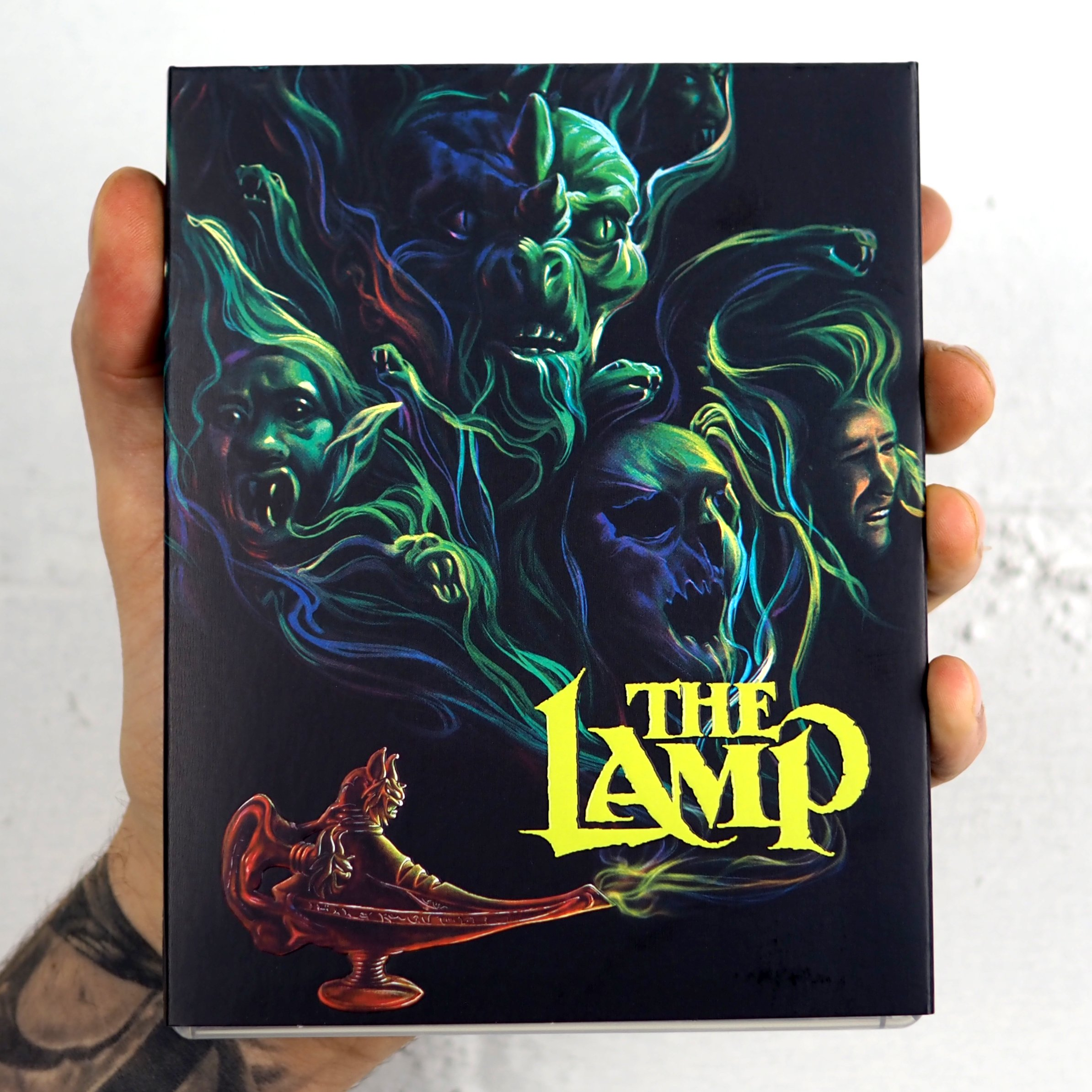 The Lamp (aka The Outing) US Blu-Ray Cover 1
