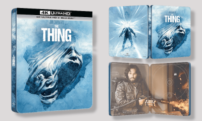 Amazon Exclusive: John Carpenter's 'The Thing' Getting a Steelbook 4K Ultra HD Blu-Ray Release in the UK This September