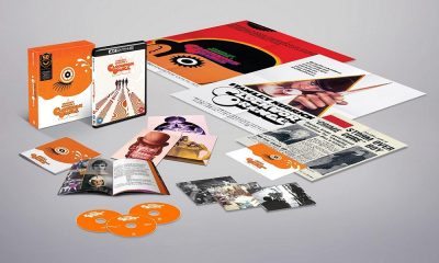 'A Clockwork Orange' Getting a 50th Anniversary Ultimate Collector's Edition 4K Ultra HD Blu-ray in the UK This October