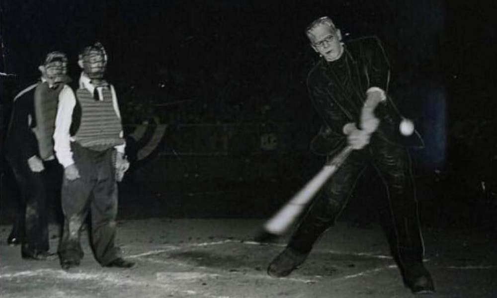 Boris and Frankenstein Hit a Home Run: Bruce Markusen's Looks Back at Karloff's Obscure Connection to Baseball