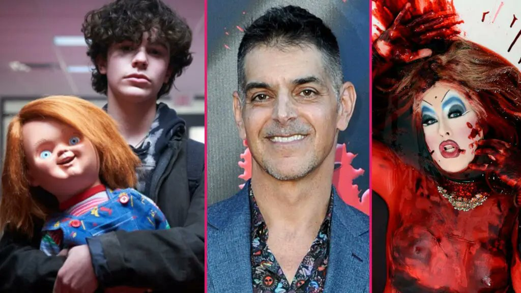 Don Mancini and Peaches Christ