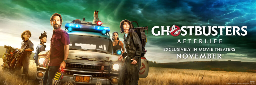 Ghostbusters Afterlife New Banner