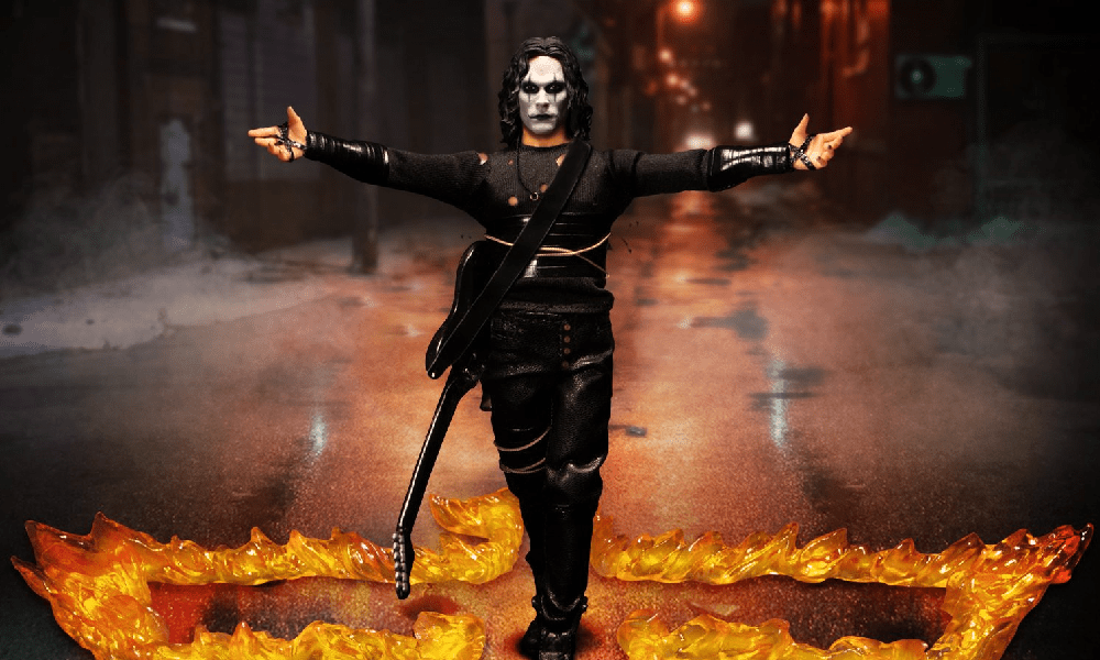 [Images] 'The Crow': Mezco Shares Gallery for Their One:12 Collective Eric Draven Figure, Available to Pre-Order Now!