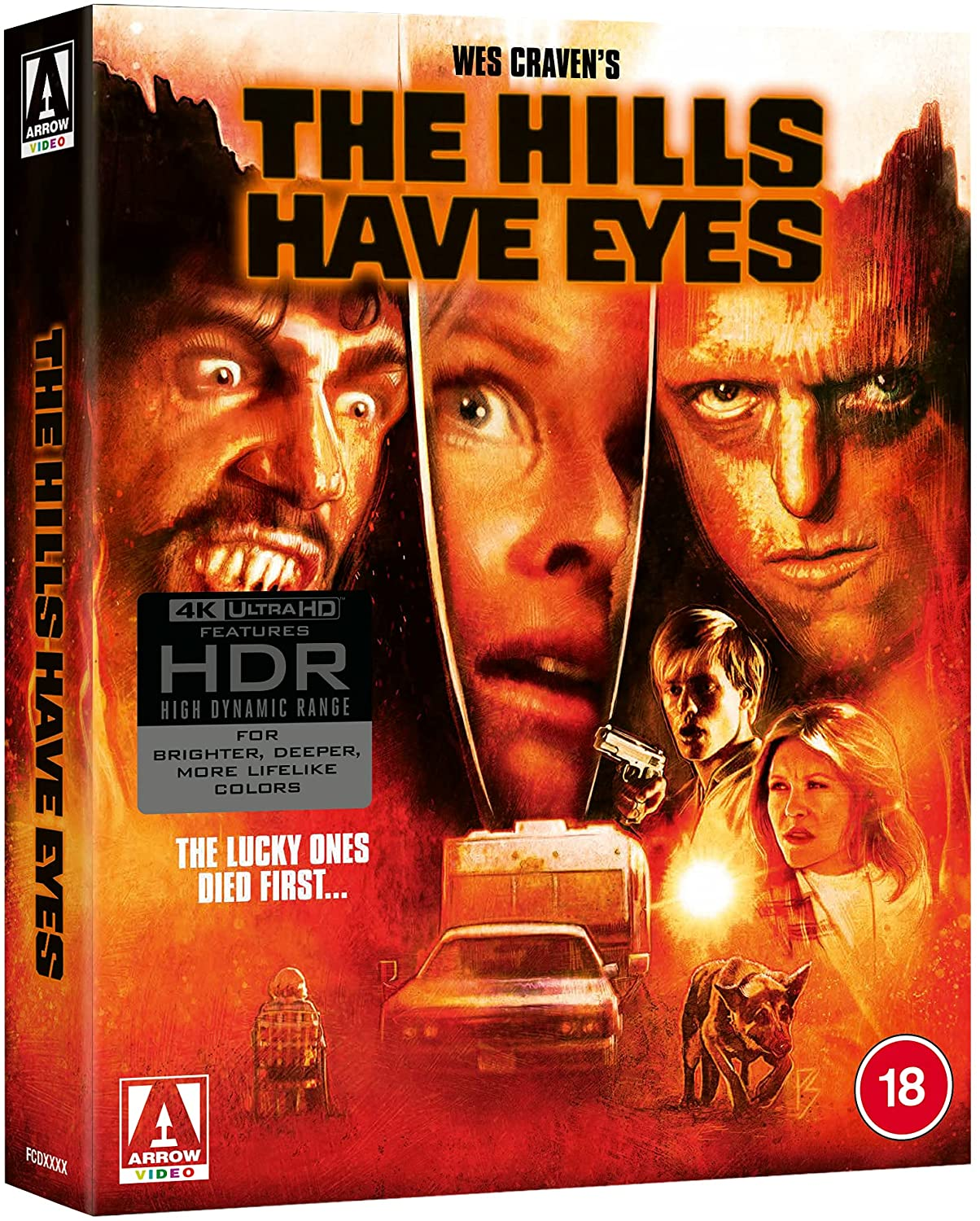 The Hills Have Eyes Limited Edition 4K Blu-Ray