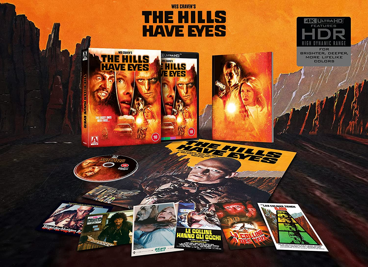 The Hills Have Eyes Limited Edition 4K Contents